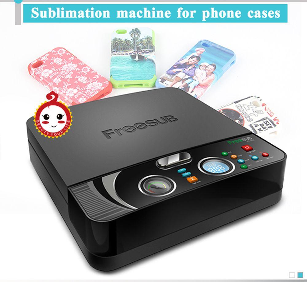 ST-2030 MINI 3D Sublimation Drucker Wärme Transfer Druck Maschine 3D Vakuum Hitze Presse Maschine für Alle Sublimation Telefon Fällen