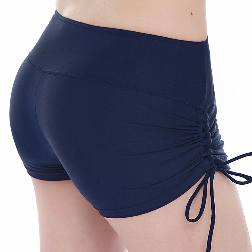 Quick Dry swimwear women plus size swimming trunks yoga shorts  Breathable sports Running Fitness Beach Shorts workout clothes
