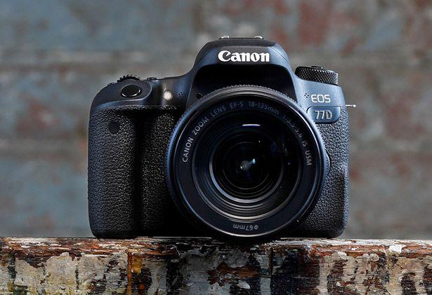 Canon EOS 77D DSLR Camera Body & 18-135mm Lens Kit