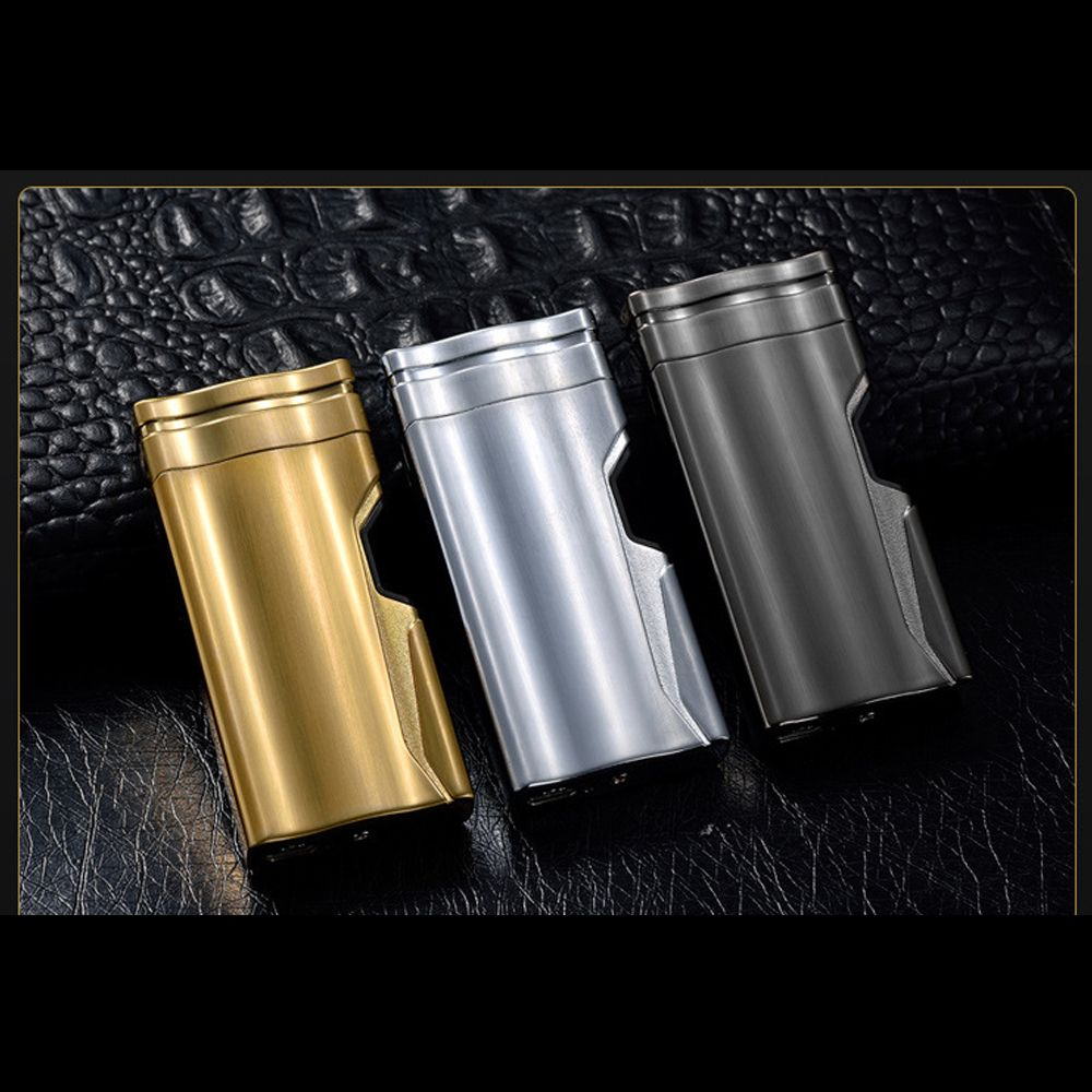 With gift  box  Double Arc Lighter Creative Infrared laser induction USB Lighters  Cross Electronic Cigarette Lighter Windproof