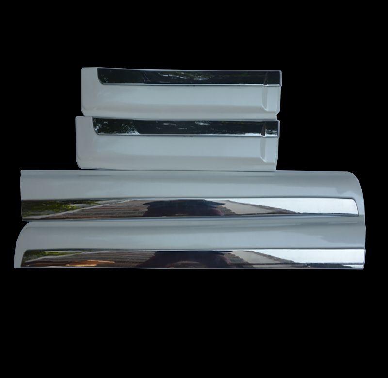 For Toyota Land Cruiser Prado 150 LC150 2010-2016 Chrome Orginal Body Side Garnish Moulding Trim Car-styling Accessories