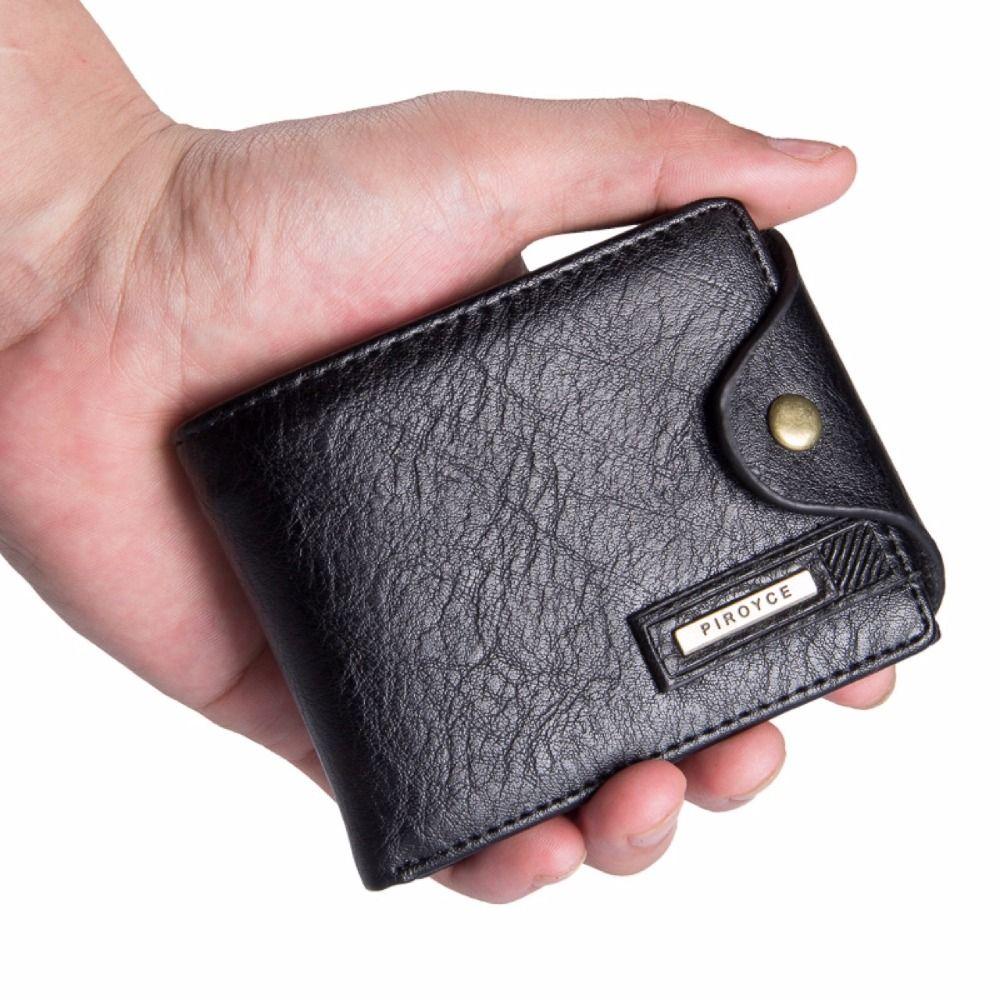 Petit portefeuille hommes multifonction sac à main portefeuilles pour hommes avec poche à monnaie à glissière hommes portefeuille en cuir hommes célèbre marque sac d'argent