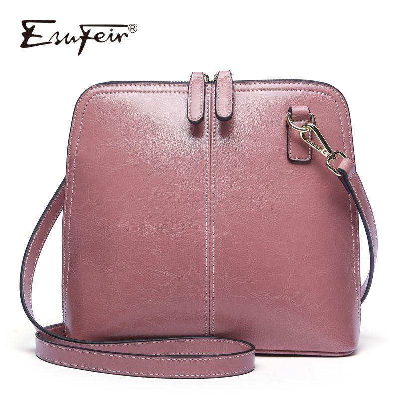 Genuine Leather Women Shoulder Bag Fashion Crossbody Bag Luxury Handbag Women Bag Designer Ladies Messenger Bags for Women 2018