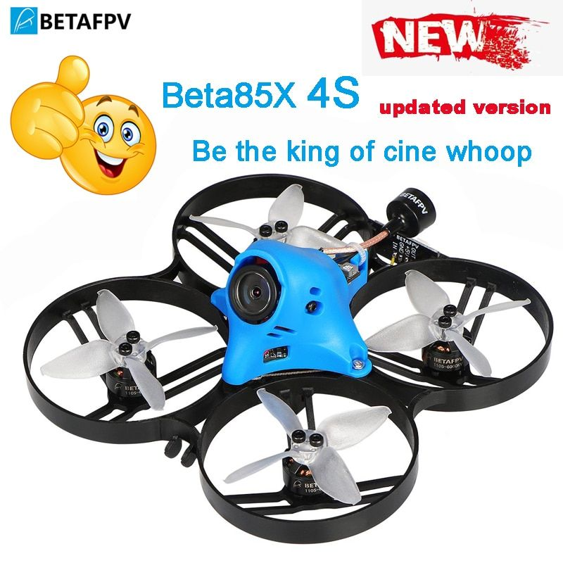 Beta85X Whoop Quadcopter 4S HD whoop DVR mit 1105 5000KV motor 2S F4 FC BLHeli_32 ESC AXII ANTENNE EMAX Avan 2