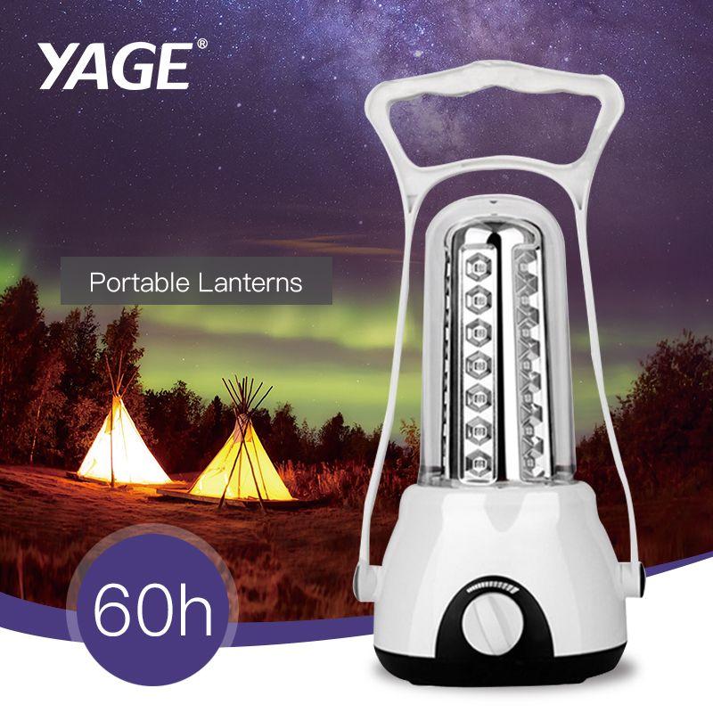 3500 mAh Rechargeable lampe portative lanterne de camping Continu Gradation 42 pièces led Lanterne lampe de travail portative Lanternes lampe de Poche
