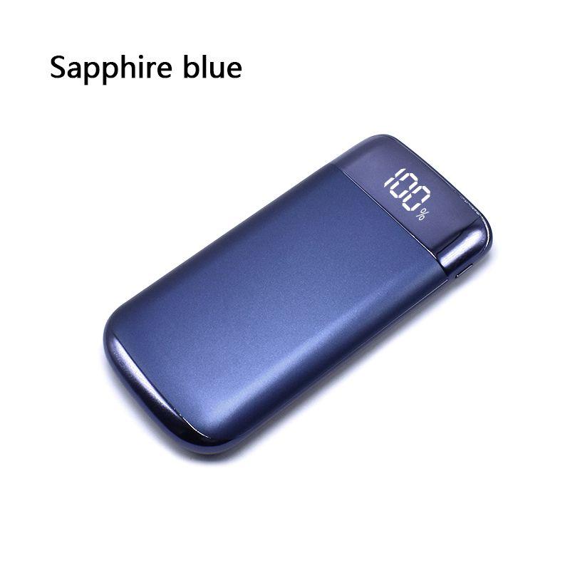 Top Vente 2 USB LCD Puissance banque 10000 mah Power Bank Batterie Externe Portable Mobile Chargeur pour for Xiaomi