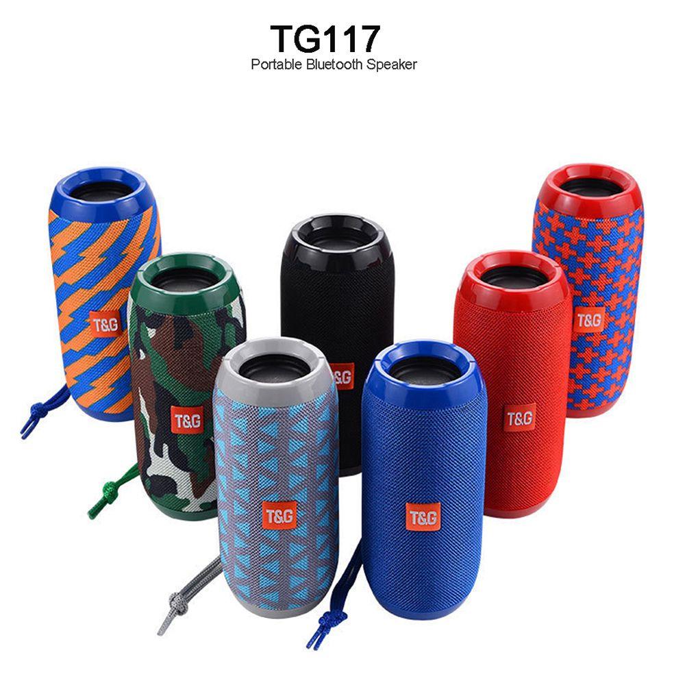 TG117 Portable colonne haut-parleur étanche Bluetooth haut-parleur extérieur vélo Subwoofer basse sans fil Boom Box haut-parleur FM TF