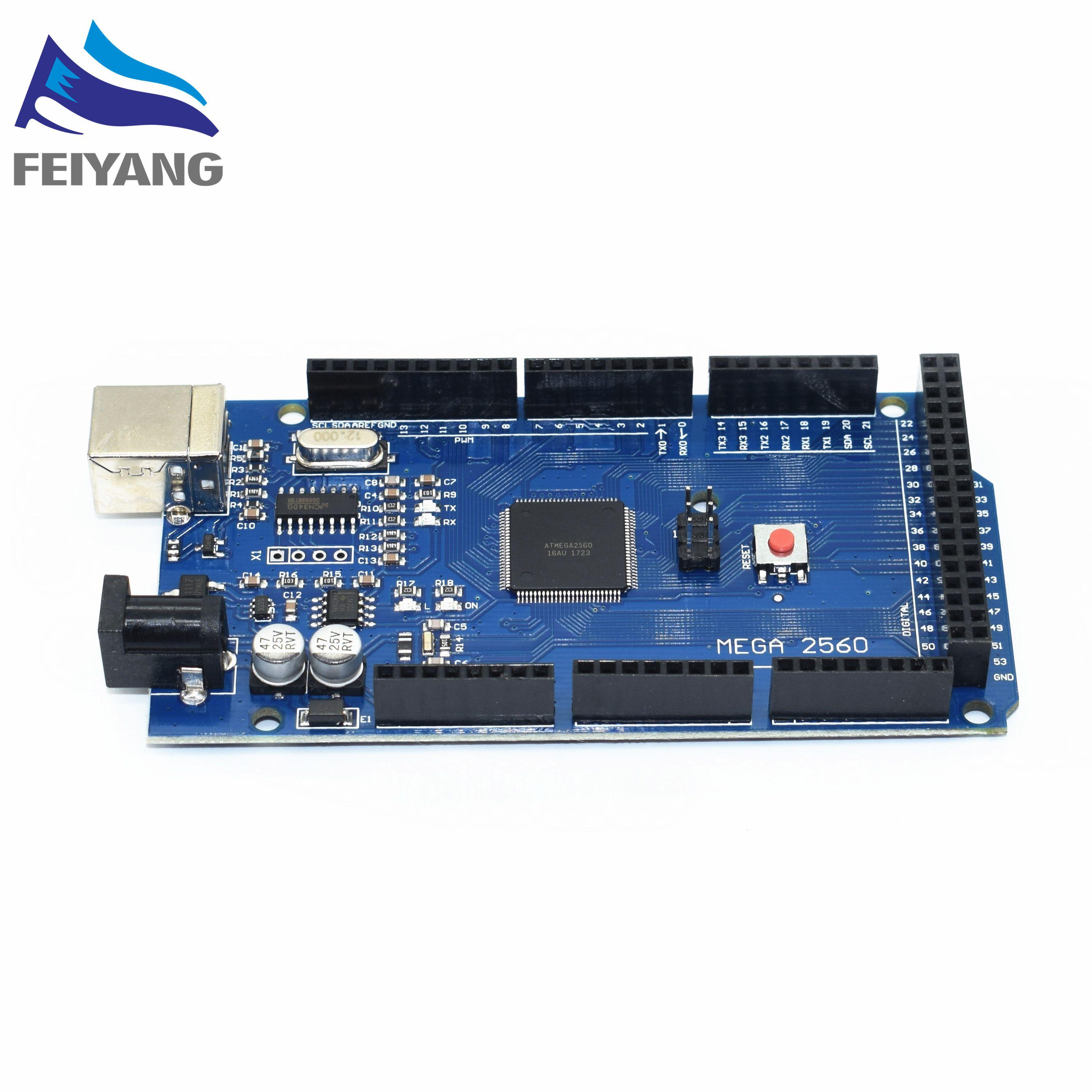 MEGA2560 MEGA 2560 R3 (ATmega2560-16AU CH340G) AVR USB conseil Pour arduino