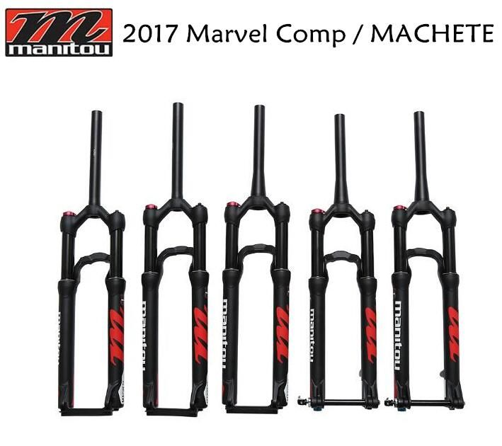2017 Manitou New Comp (Machete) 27.5 29 27.5er 29er 9mm 15QR QR15mm Suspension Bike Bicycle MTB Fork Alloy Disc Brake Fork