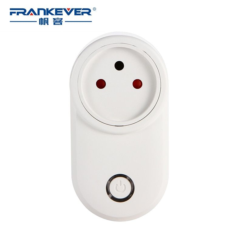 FrankEver Israel WIFI Smart Plug Smart Timing Socket Wireless Outlet Voice Intelligent Control Work with Alexa Google home