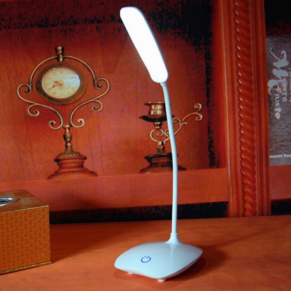 LED rechargeable par usb bureaux lampe de Table intensité réglable liseuse interrupteur tactile lampes de bureau lampes de bureau
