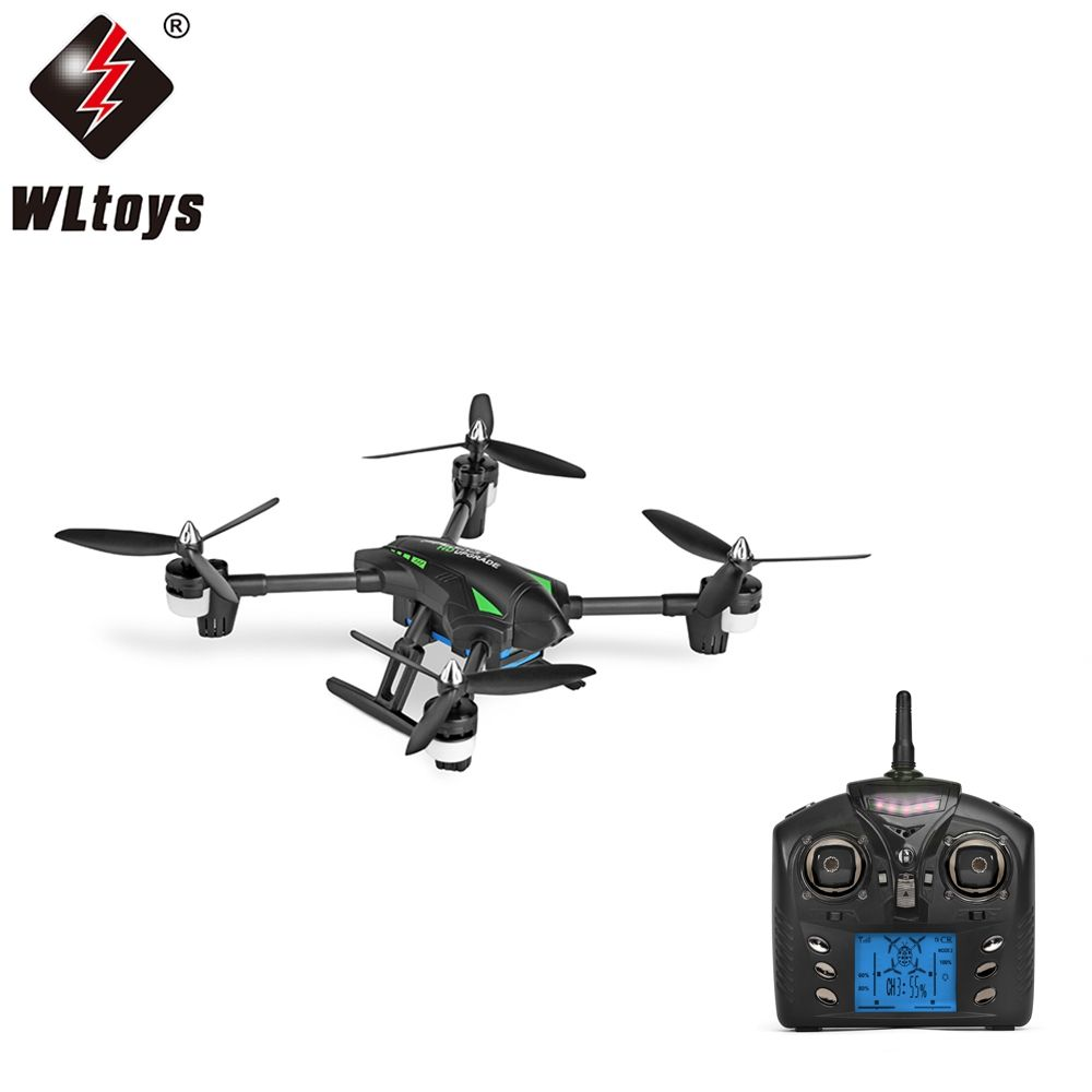 Original WLtoys Q323 - C RC Drone RTF with 2MP Camera 2.4GHz 6-axis Gyro Air Press Altitude Hold Headless Mode