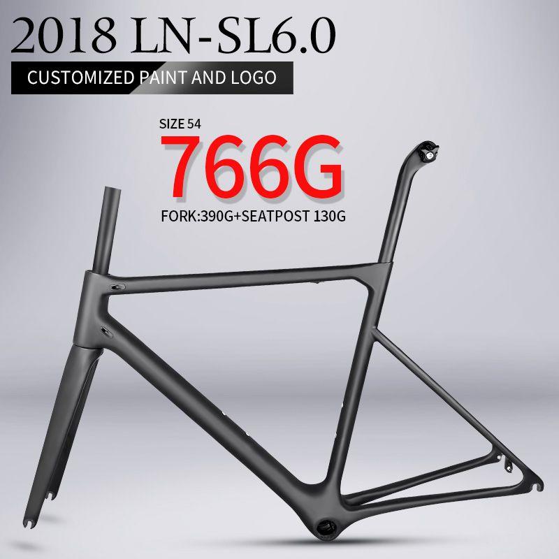 2018 T1000 nur 766g super licht aero carbon rennrad rahmen Chinesischen hohe qualität licht gewicht carbon faser fahrrad rahmen