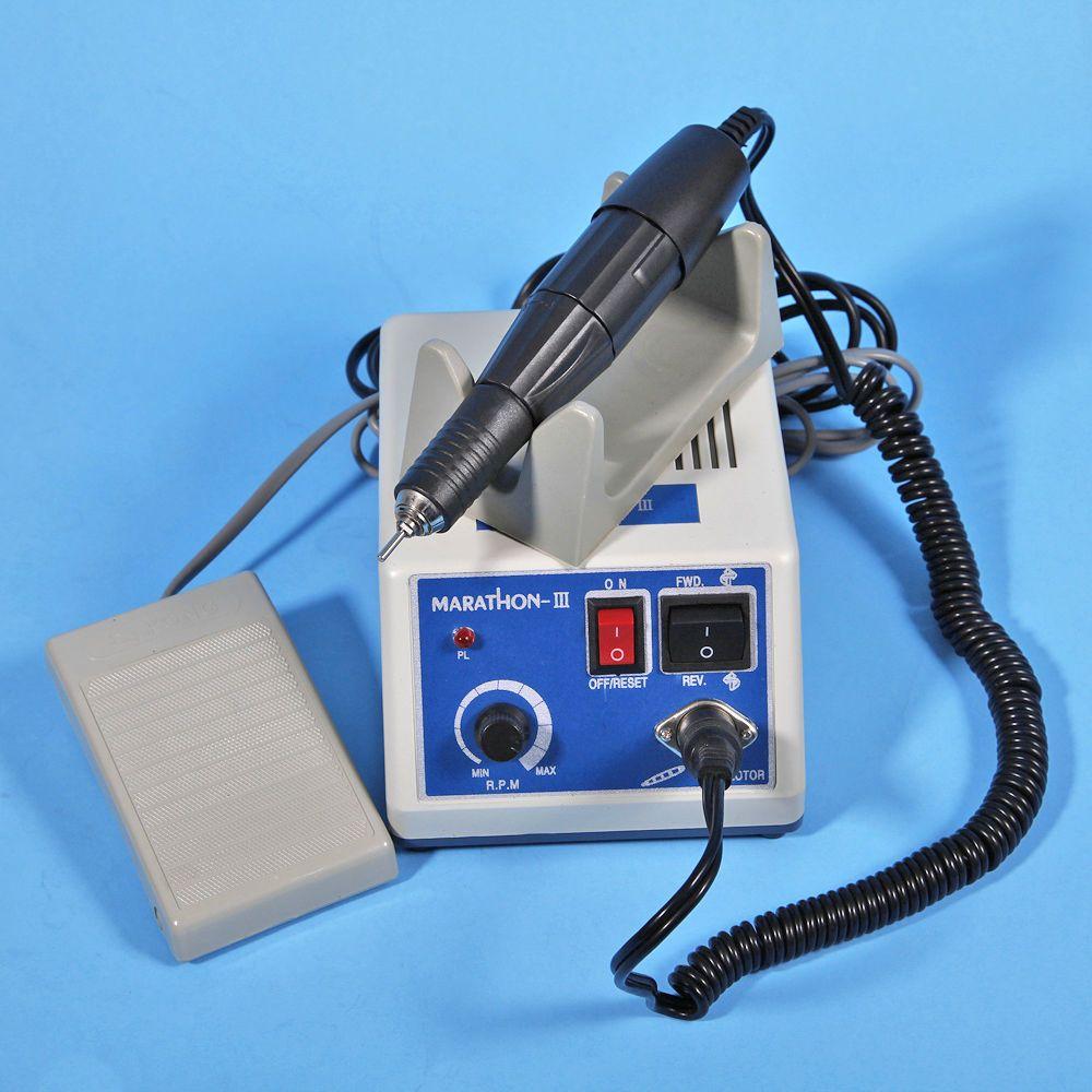 Livraison gratuite laboratoire dentaire MARATHON micromoteur Machine N3 + 35 K RPM pièce à main de polissage 110/220 V