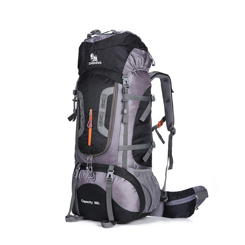 80L Große Kapazität Outdoor rucksack Camping Reisetasche Professionelle Wanderrucksack Rucksäcke sporttasche Klettern paket 1,45 kg
