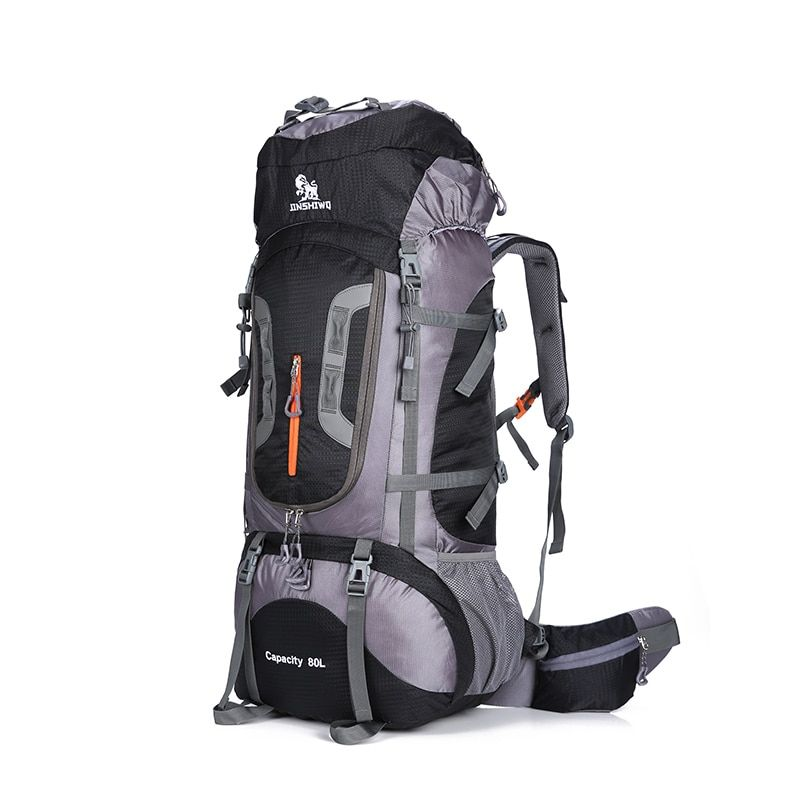 80L Large <font><b>Capacity</b></font> Outdoor backpack Camping Travel Bag Professional Hiking Backpack Rucksacks sports bag Climbing package 1.45kg