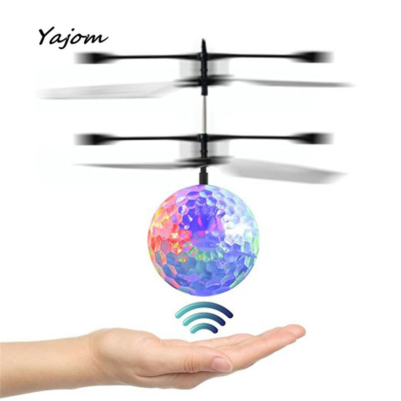 RC Spielzeug EpochAir RC Fliegende Kugel RC Drone Hubschrauber Ball Eingebauten Disco Musik Mit Shinning Led-beleuchtung für Kinder Dec13 Kann 18