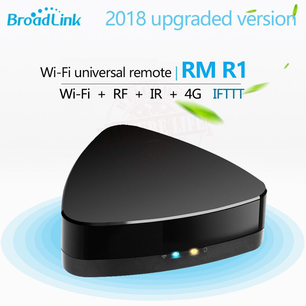 2018 Broadlink RM R1 RM03 WiFi Télécommande Universelle RF + IR 433/315 Hmz pour RF Projecteur Lumière Commutateur IR TV Set Top Box