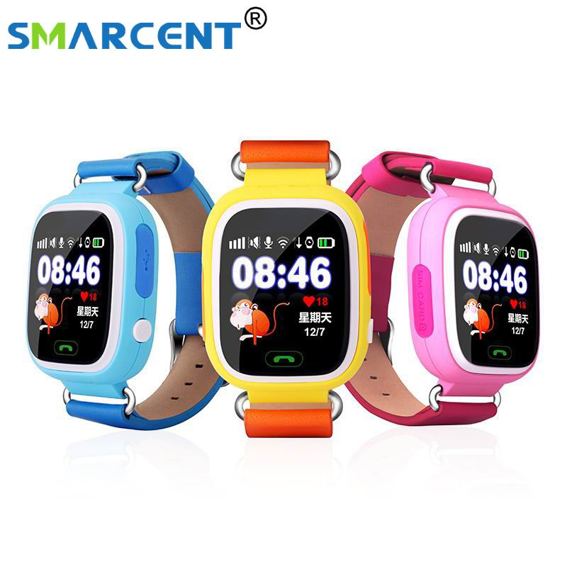 Q90 GPS Smart baby smart watch Q90 phone kids GPS Wifi Smart Watch SOS GPS Location Device Tracker Kid Safe Monitor children