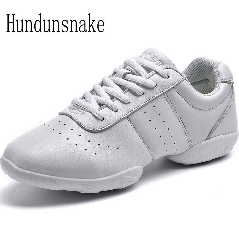Hundunsnake White Jazz Dance Shoes Platform Women Sneakers Ladies Sport Krasovki Female Gym Gumshoe Trainer Chaussure Femme T157