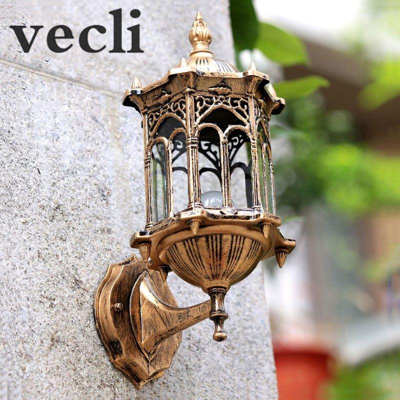Europe applique extérieure villa passerelle cour applique lumière résidentielle balcon lumières WCS-OWL003