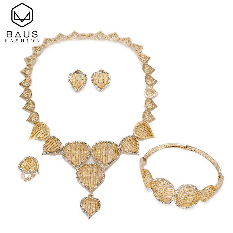 2017 Good quality Square Ethiopian indian Dubai jewelry set women african beads Nigerian wedding jewelry sets arabic jewelry