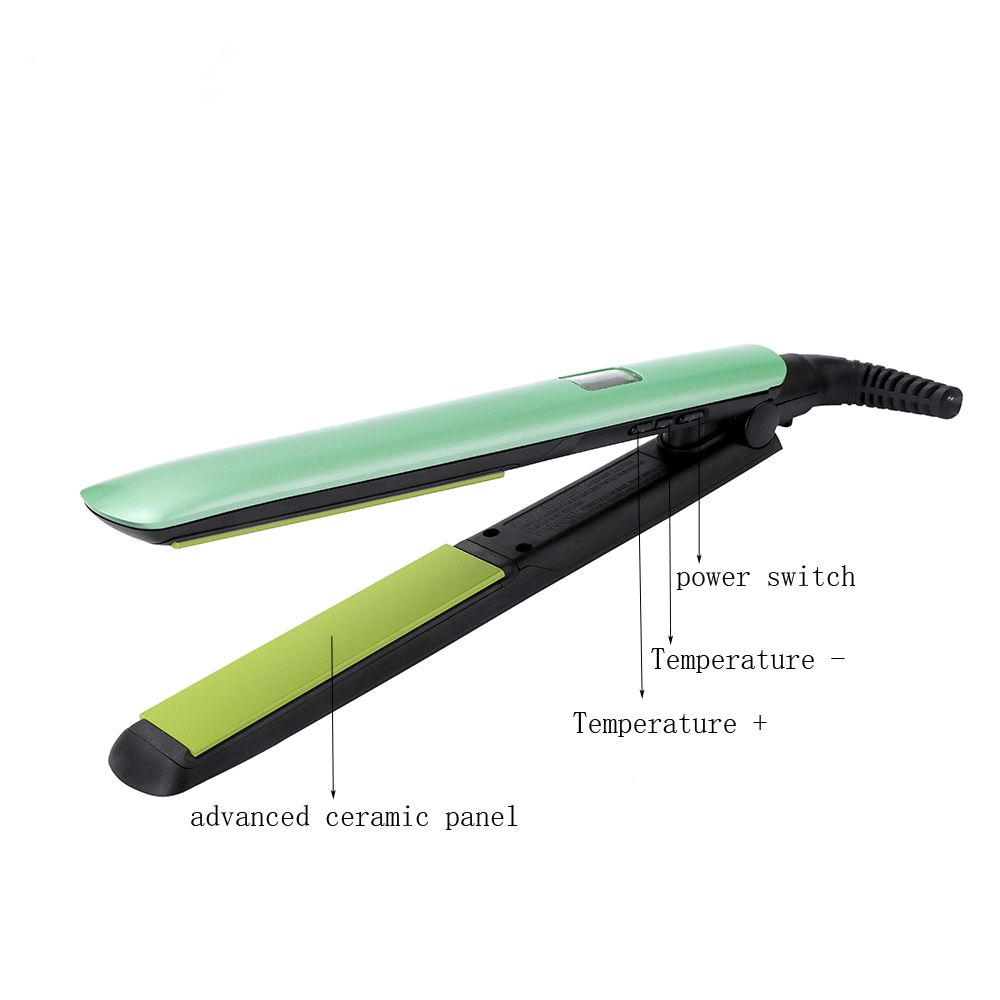 honglin Straightening Irons Temperature Ajustable Styling Tools Professional Hair Straightener Rapid Heating HS-8590A