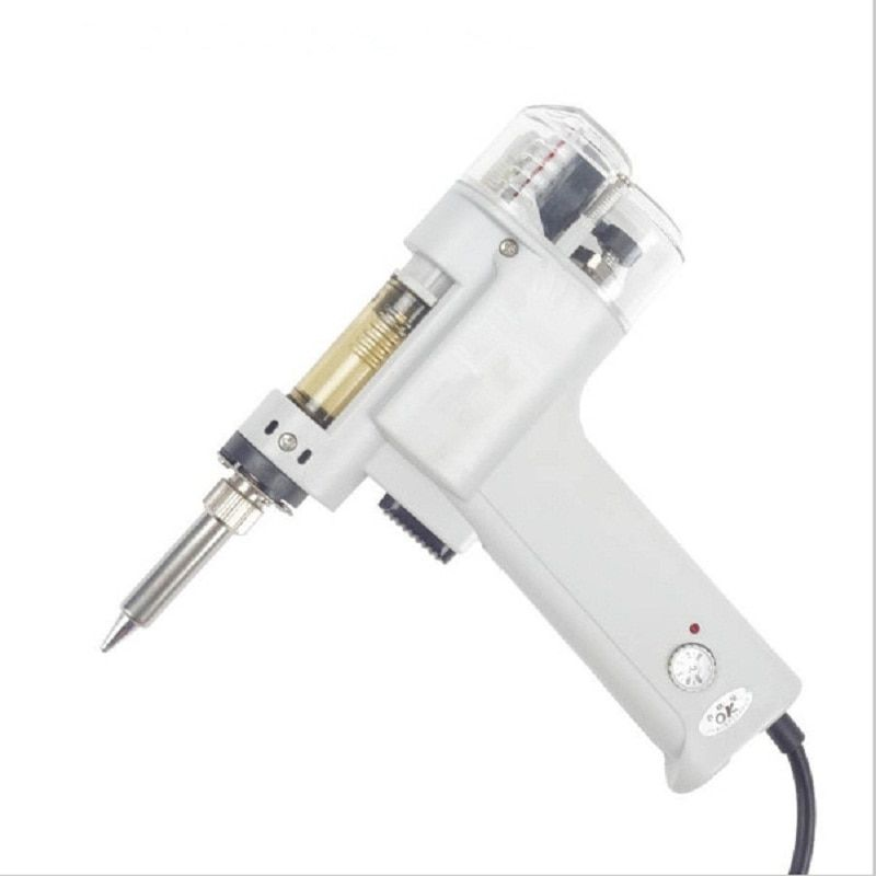 Hot Sale High Quality Portable Dual Pump Suction Tin Electric Suction Gun Electric Instrument Desoldering Solder Sucker Gun