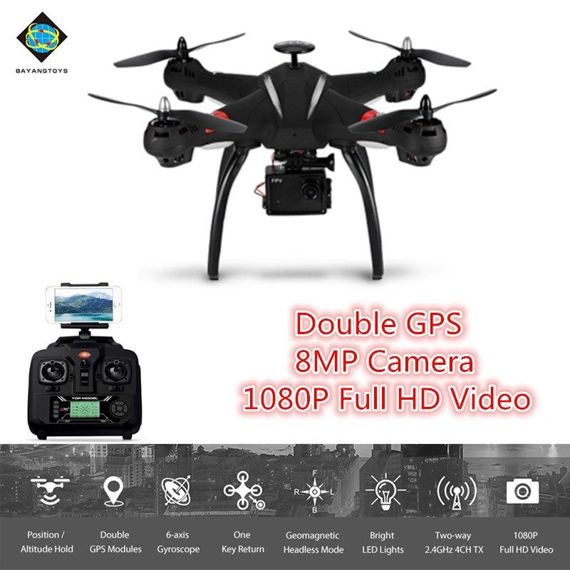 BAYANGTOYS X21 Brushless RC Quadcopter RTF WiFi FPV 8MP Camera 1080P Full HD/Follow Me Mode/Point of Interest camera drone