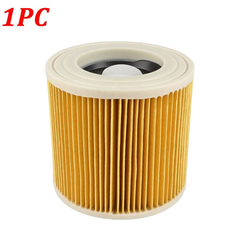 1PC Replacement Air Dust Filter for Karcher Vacuum Cleaner Parts WD2250 WD3.200 MV2 MV3 WD3 A2004 A2204 Cartridge HEPA Filter