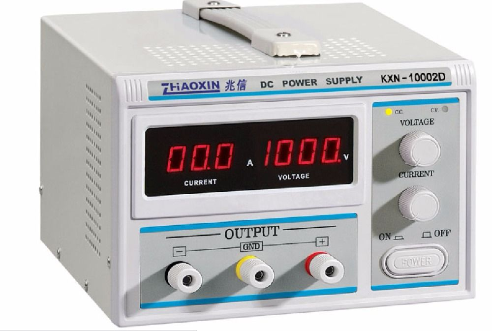 ZHAOXIN KXN-10002D Original high power DC power supply 1000V high voltage adjustable DC aging test electroplating constant curre