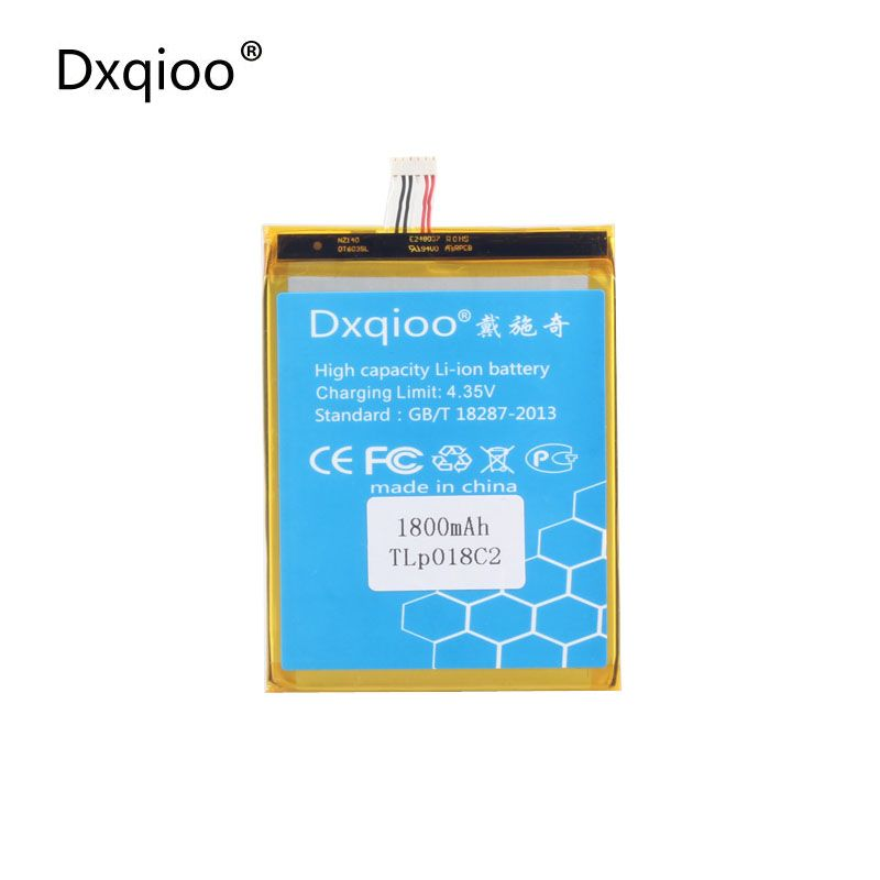 Dxqioo mobile phone battery fit for ALCATEL one touch OT-6033X ultra 6033 for TCL S850 TLP018C2 batteries