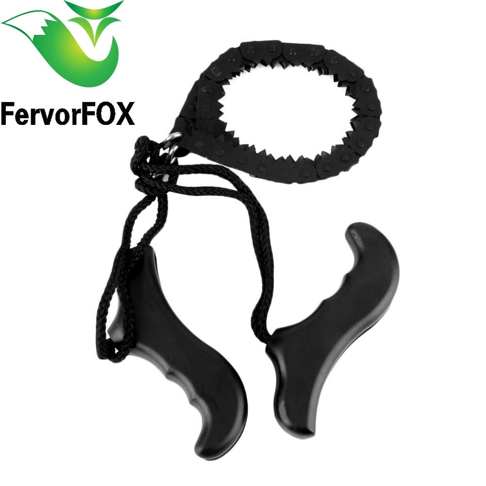 Multifunction Pocket Chain Saw Hand Saw Chain Outdoor Survival Tool Camping & Hiking Supplies
