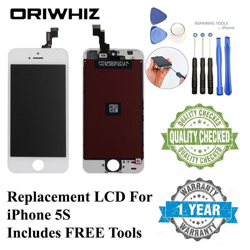 ORIWHIZ Grade AAA Screen LCD for iPhone 4 4S 6 5 5S 5C SE Display LCD Touch Screen Replacement Digitizer Assembly Display