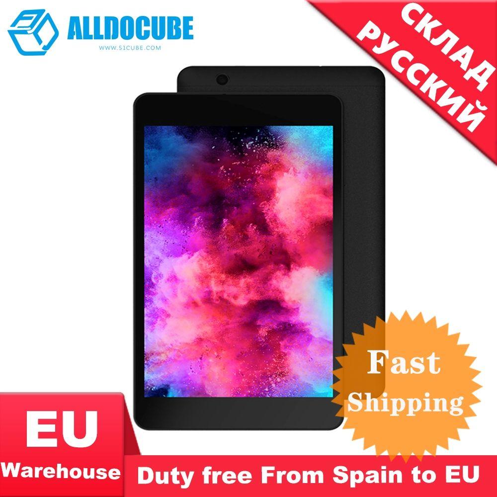 ALLDOCUBE M8 4G téléphone appel tablette pc 8 pouces 4G LTE MTK X27 6797X1920*1200 FHD IPS 3 GB RAM 32 GB ROM Android 8.0 GPS double SIM BT