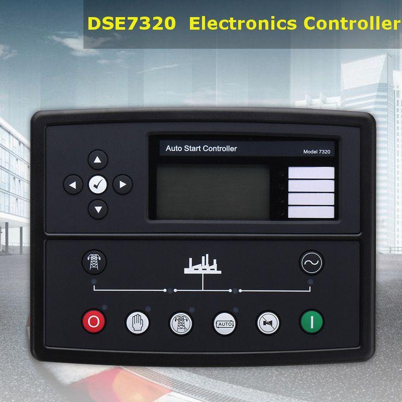 Neueste Deep sea controller DSE7320 Generator Genset Auto Start Control Module Neue Elektronik Controller Control Module Panel