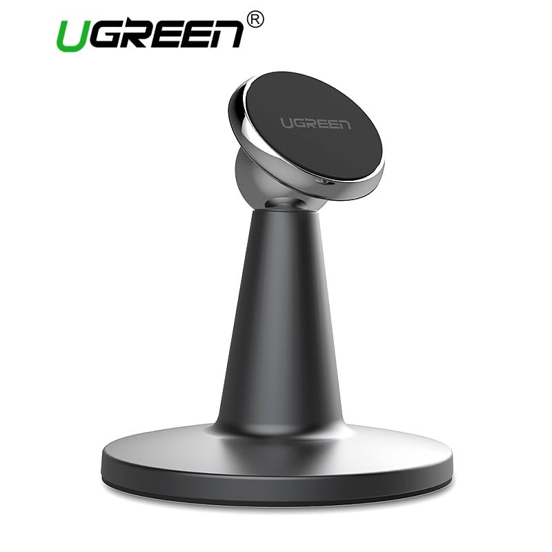 Ugreen Magnetic Phone Stand Holder 360 Degree Rotation Desk <font><b>Mobile</b></font> Phone Holder Stand for Xiaomi Tablet iPad Air iPhone 7 6 6S 5