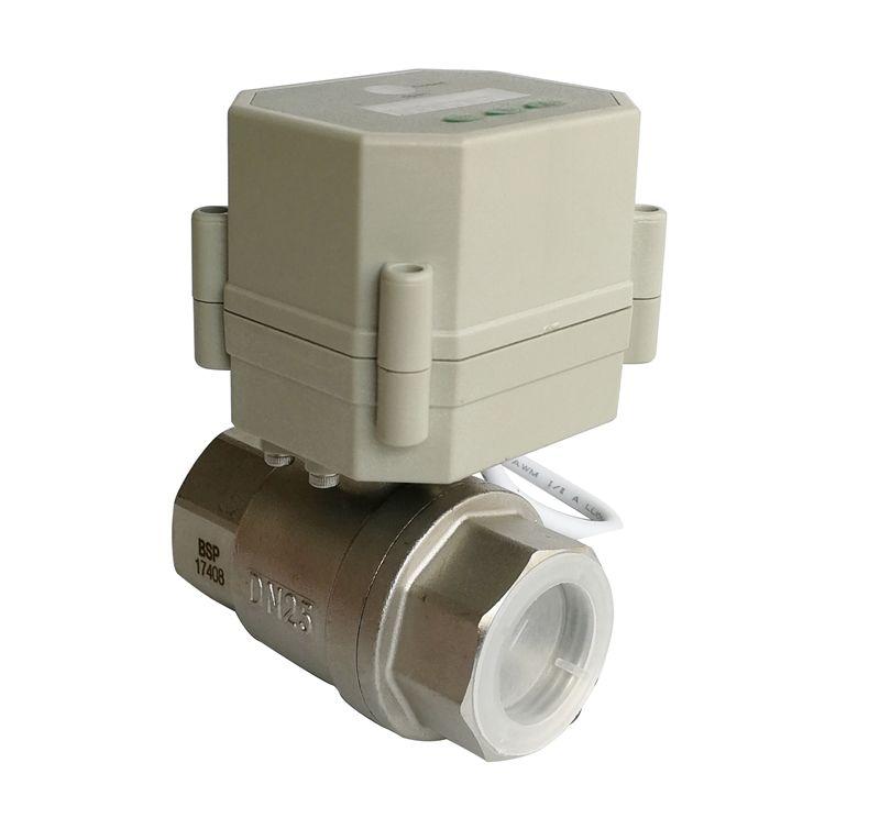 1 ''Elektrische timer regelventil SS304, AC110V-230V automatische auf/auf zeitsteuerung elektrische ventil für wasser steuerungssysteme