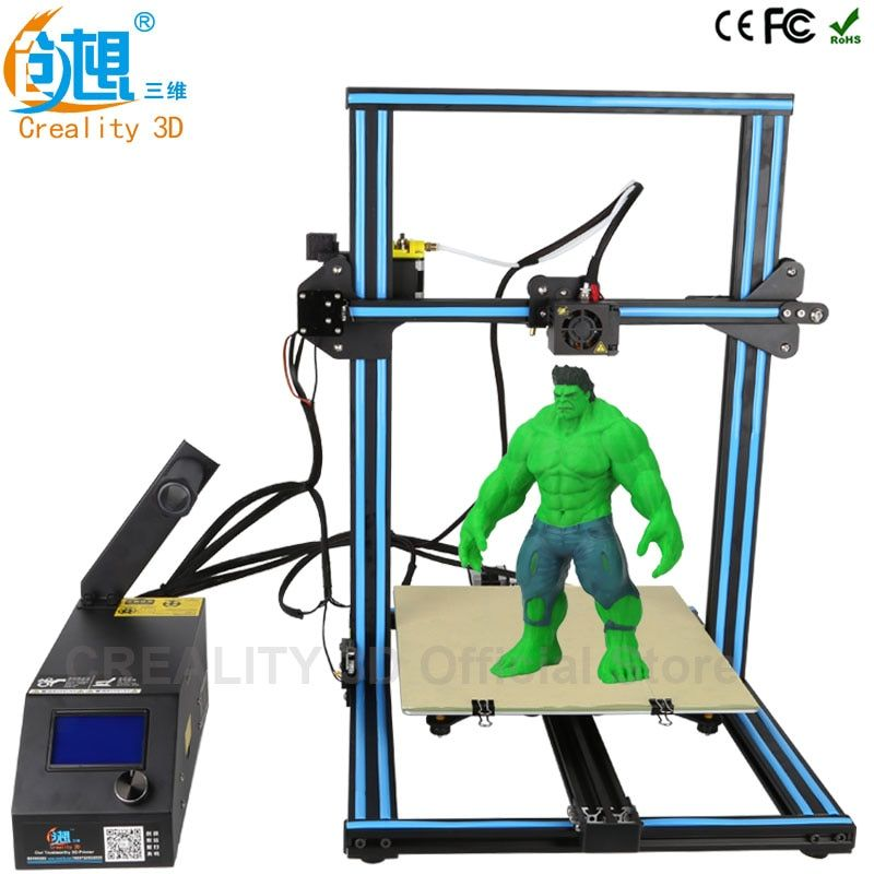 CREALITY 3D CR-10S CR-10 Optional desktop 3D printer Metal Frame Professional High Resolution Stable LCD Display Filaments