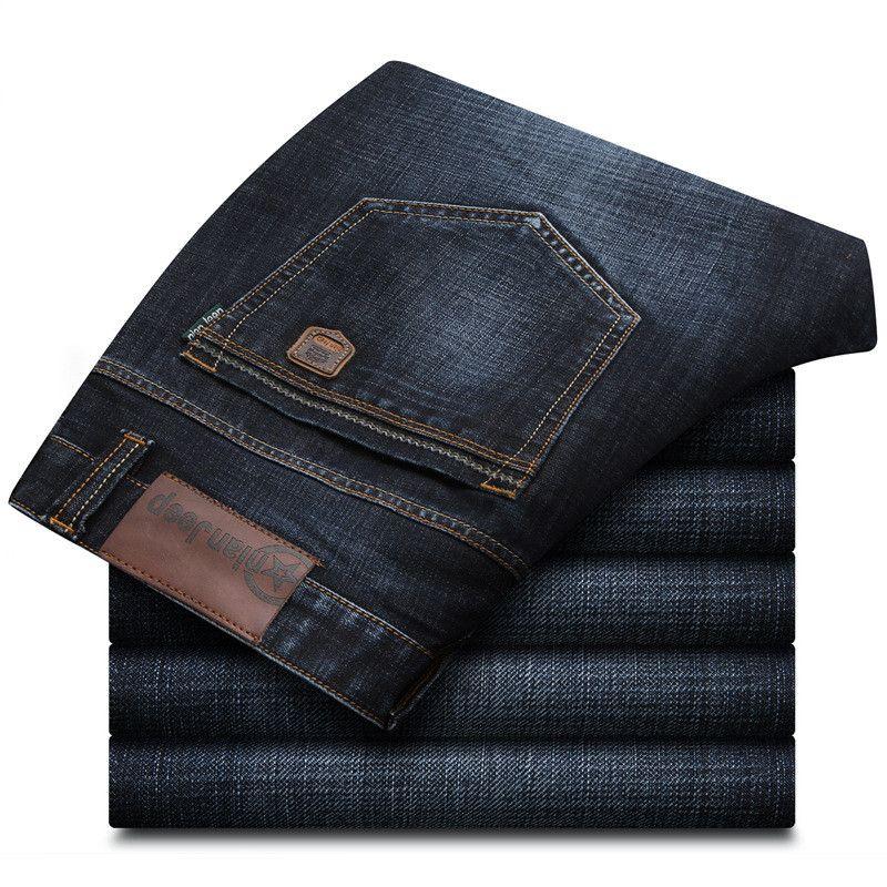Nianjeep 2017 Neue Herbst Winter Jeans Männer Smart Casual Regelmäßigen Denim Herren Jeans Hosen Marke Kleidung Größe 28-42 8249