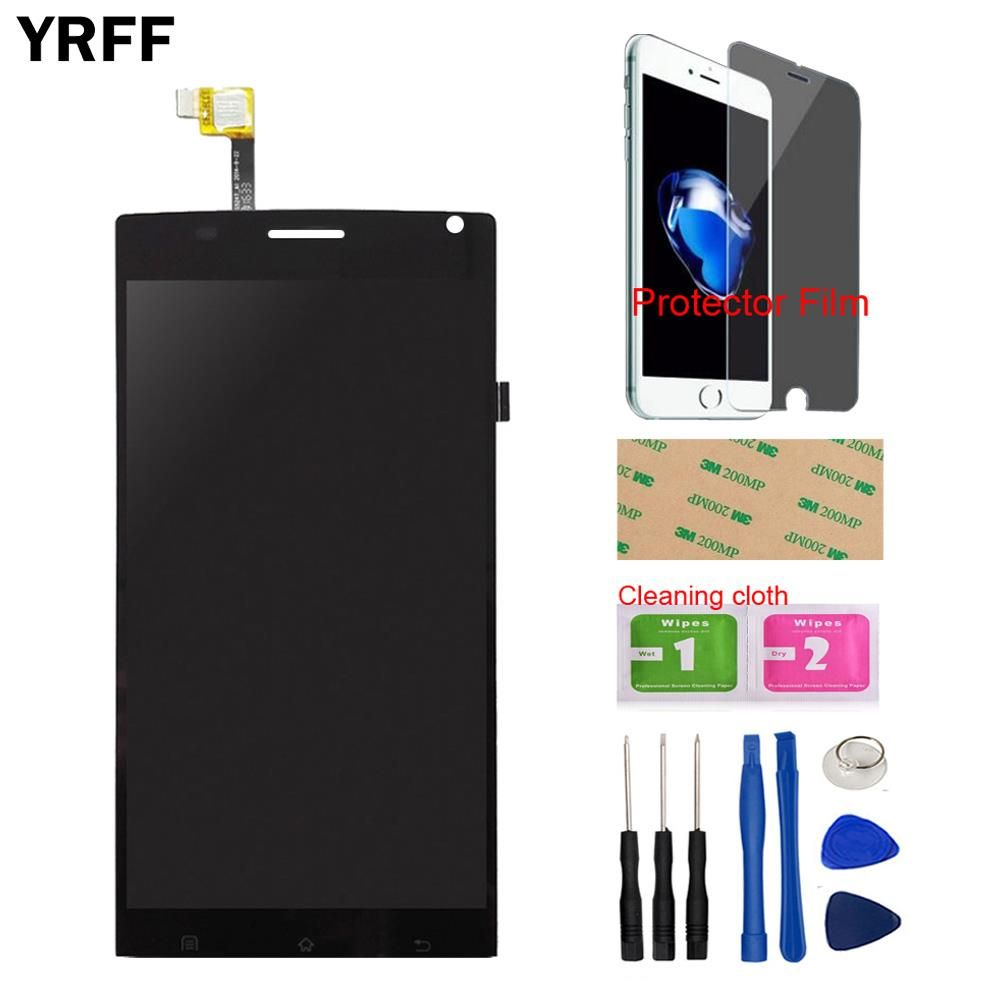 5.5'' LCD Display Touch Screen Glass Digitizer Assembly For MegaFon Login + MFLoginPh TOPSUN_G5247_A1 Free Tools Protecotr Film