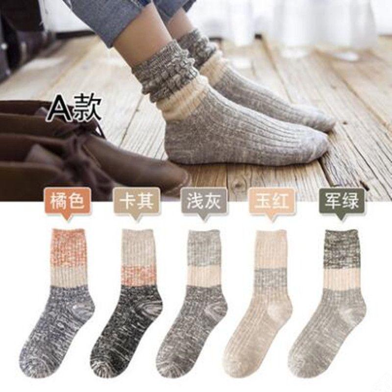 80 pairs2017 Для женщин зимние носки животных хлопок длинный петухи модные Носки-5211