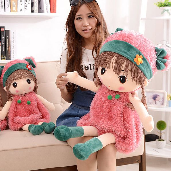 TBKJOYS The 60cm New Angela doll plush toys Christmas gifts for Girls free shipping