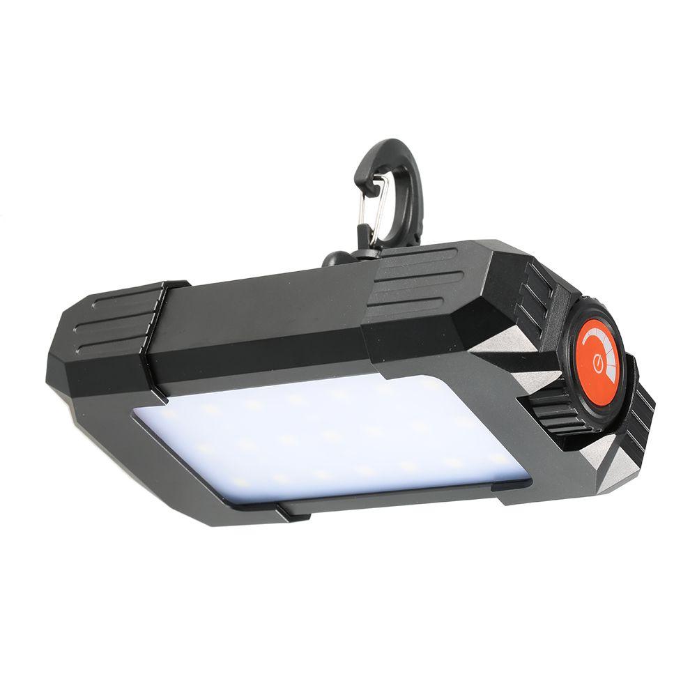 10 W 500LM Luz Tienda de Campaña Al Aire Libre Portable Recargable 27 Led Linterna Intermitente Lámpara Linterna Linterna Luz con USB Gancho