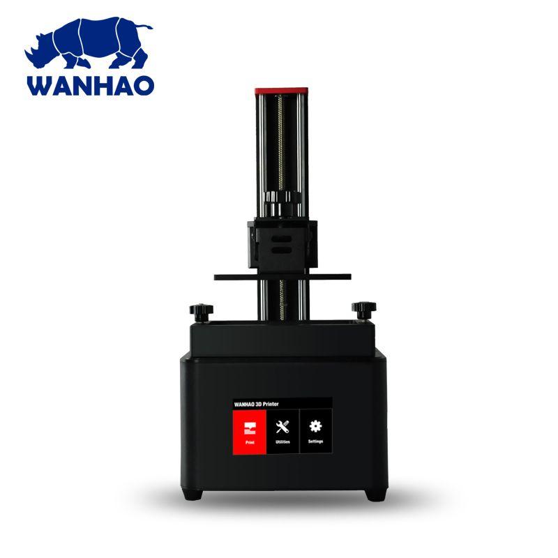 2018 neueste Version Wanhao D7 PLUS DLP/SLA Drucker LCD Harz 3D Drucker, Schmuck Dental 3D Maschine, mit Touch Screen, Freies Verschiffen