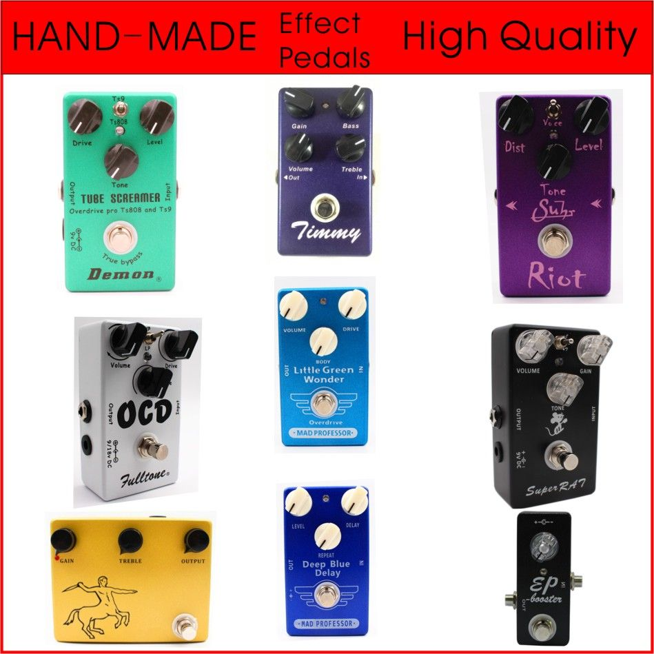 High Quality Clone Mad Professor Deep Blue Delay And Little Green Wonder Overdrive Guitar Effect Pedal And Booster