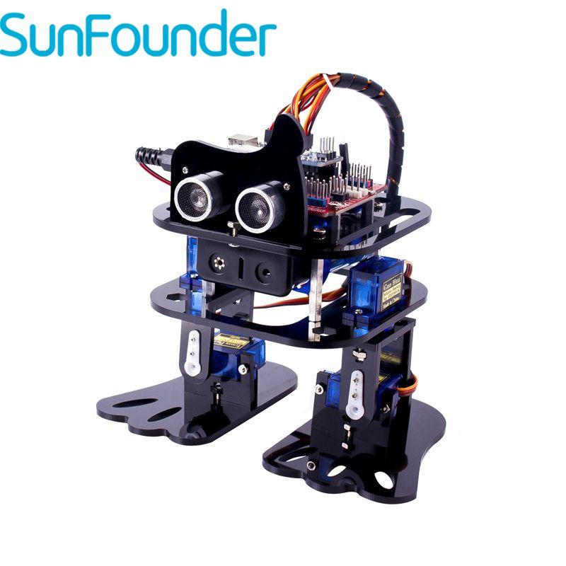 SunFounder DIY 4-DOF Robot Kit -Sloth Learning Kit for Arduino Nano DIY Robot