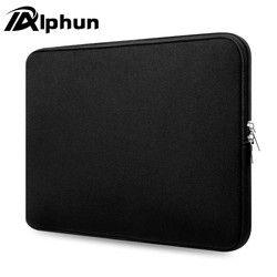 Alphun fasion bolsa de ordenador portátil manga del ordenador portátil de la cremallera para 15.6 pulgadas 15 pulgadas 13 pulgadas 11 pulgadas portátil protector para PC portátil