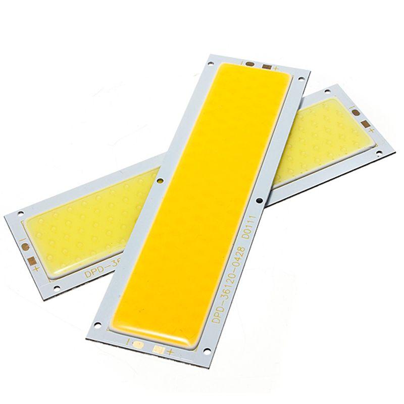 Вел Панель полосы света чип 10 Вт лампы накаливания источник света теплый белый чистый белый для DIY spotlight пол Освещение DC12-24V