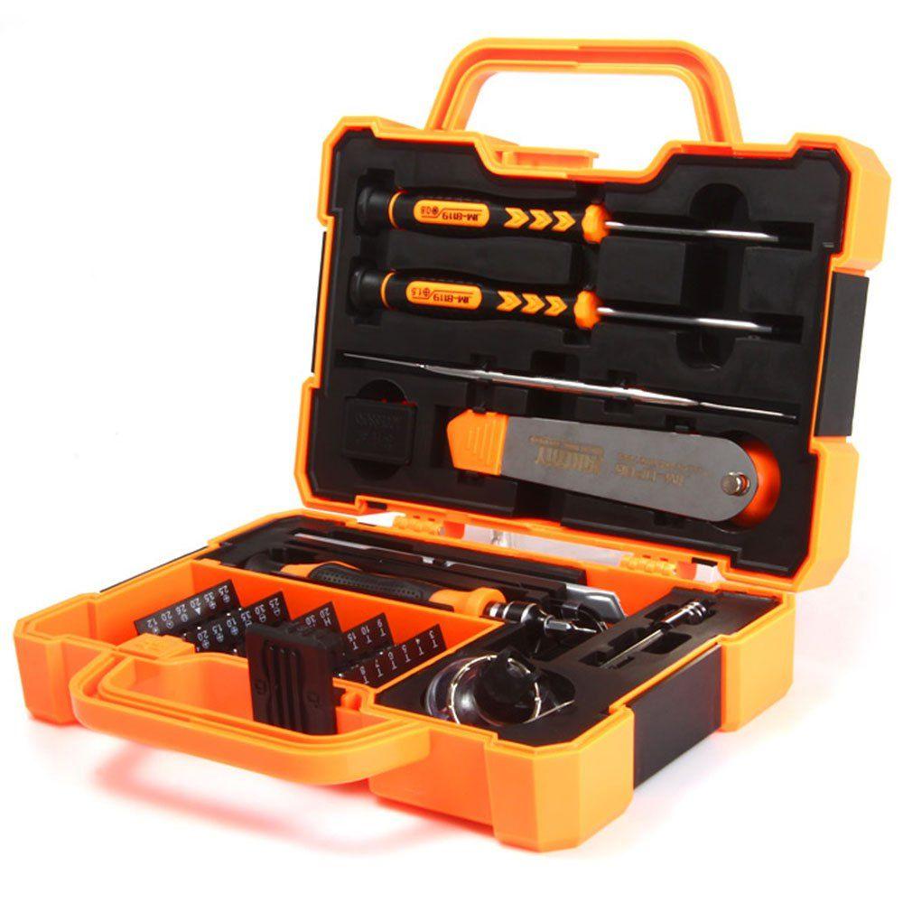 Newest Phone Repair Tool Set JAKEMY JM-8139 45 in 1 Multi Bit Screwdriver Kit Spudger Tweezers for Tablets Mobile Phone Repair